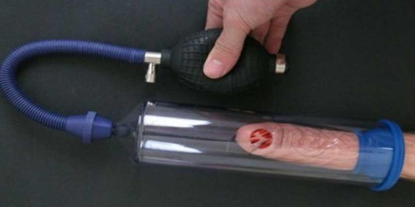 cum se folosește o pompă pentru penis)